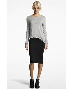 tshirts and pencil skirts | pencil skirt - t-shirt - motorcycle ...