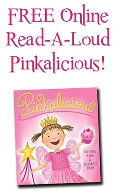 FREE Online Read-A-Loud for Kids: Pinkalicious!