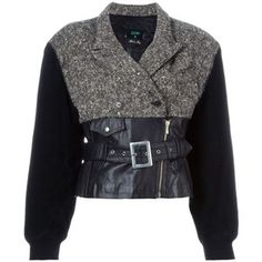 Jean Paul Gaultier Vintage Forbidden Gaultier Biker Jacket