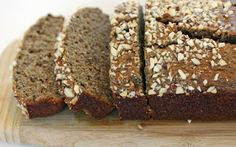 The Paleo Diet Recipes: Banana Bread with Almonds