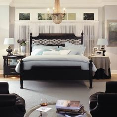 In my mind this is how my bedroom would look best- the reality falls a smidgen short,  good to have dreams!