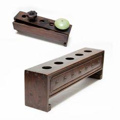 Opium Pipe   AN OPIUM PIPE-BOWL SATND   Baoshan