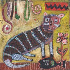 Best Kitty by Jill Mayberg Paintings