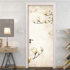 Door Decals – the treasure thrift Door Stickers, Door Wall, Internal Doors, Thrift, Door Handles, Centerpieces, Decals, House Ideas, Colours