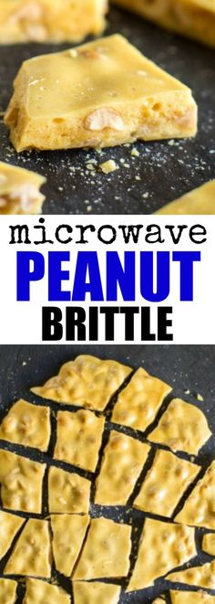 Learn the secret tobuttery Microwave Peanut Brittle (minus the burnt taste!). It's easier than you think to create thatcrunchy, airy texture. Yes, in your microwave. via @culinaryhill