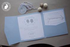 Le Petit Rabbit: Wedding stationery: partecipazioni matrimonio silhouette