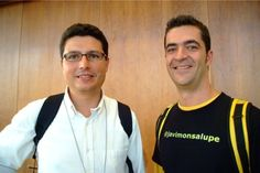 Con Javier Martín @loogic en EBE 2009