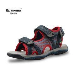 Apakowa 2017 New Summer Children Shoes Beach Boys Sandals Kids Boys Rubber Sole Slip-resistant Fashion Kids Sandals Arch Support //Price: $29.52 & FREE Shipping //     #buy18eshop