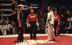 The new Karate Kid series, Cobra Kai, can't rely on nostalgia to get by. The Karate Kid 1984, Karate Kid Movie, Karate Kid Cobra Kai, Cobra Kai Dojo, Saga, Ralph Macchio The Outsiders, William Zabka, Kids Fans, Youtube Red