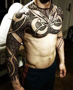 Image result for masculine norse tattoo