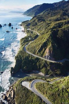 Drive the entire length of the Pacific Coast Highway, California