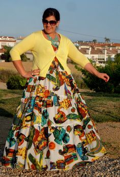 Vestido estilo étnico