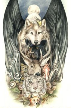 totem pole tattoo inspiration