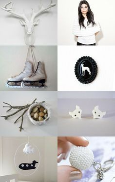 moving...through...winter - a lovely collection by Danielle on Etsy inspired by winter