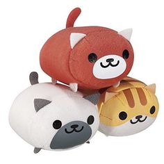 Neko Atsume F Prize Banpresto All Three Set. Super cute plush!! Size: Approx. We are Japanese seller based in Japan. All products are shipped directly from Japan within 4 - 5 days of after receiving payment.