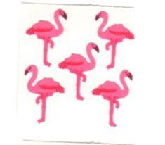 SANDYLION STICKER section 80er 90er Fuzzy tissu Coq Sticker Autocollant Album