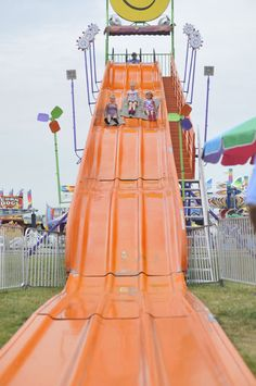 Marion County Fair. When my father would drive us kids around and he saw one of these he would stop...we never missed one..Loved it.. Still do.