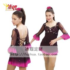 Aliexpress.com : Buy Custom Adult Ice Skating Dresses Graceful New Brand Figure Skating Dresses For Competition DR4153 from Reliable dress xxxl suppliers on Crystal Professional Custom Figure Skating Dresses Store
