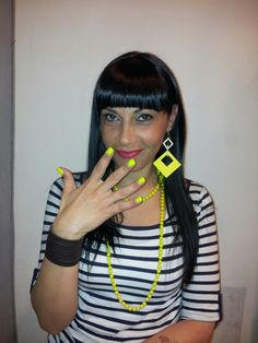 Black#yellow# Alessandro# Vicini #Hairstylist.