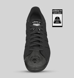ADIDAS SUPERSTAR STAR WARS EDITION Hipster Shoes, Adidas Superstar, All Black Sneakers, Kicks, Star Wars, Darth Vader, Footwear, Stars, How To Wear