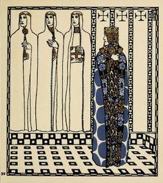Carl Otto Czeschka- Die Nibelungen  