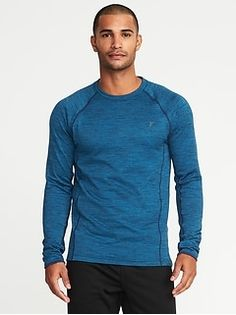 Old Navy Go-Warm Thermal Performance Top for Men Mens Activewear, Shop Old Navy, Waffle Knit, Sexy Men, Active Wear, Men Sweater, Warm, Tees, Long Sleeve