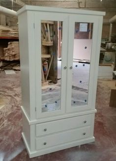 Aylesbury Painted Pine Shabby Chic Triple 5 Drawer Wardrobe No Flat Packs View More On The LINK Zeppyio Product Gb 2 28180334265