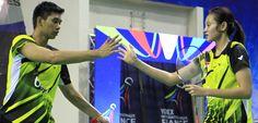 Alfian/Annisa Harus Puas menempati Runner Up Bitburger Open 2014 - Exist Badminton Club