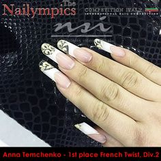 French, Nails, Beauty, Finger Nails, Beleza, French People, Ongles, Nail, Cosmetology