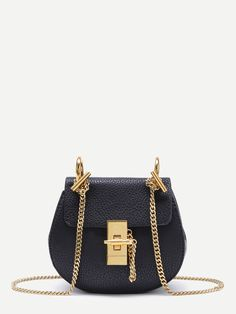 Shop PU Crossbody Saddle Bag With Chain online. SheIn offers PU Crossbody Saddle Bag With Chain & more to fit your fashionable needs.