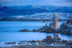 Mono Lake Winter Snow South Tufa by Steve Sieren on 500px