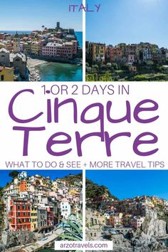 Finest Issues to Do in Cinque Terre – 1 and Itinerary. Cinque Terre journey information Backpacking Europe, Europe Travel Tips, European Travel, Travel Guides, Travel Destinations, Travel Info, Fun Travel, Travel Articles, Train Travel