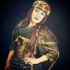 Festive Kurdish Dress and traditional Headwear.