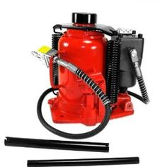 This All Purpose Hydraulic Jack Easily Handles Lift Jobs Up to 32 Tons Ideal For Auto & Truck Repairs Moving Machinery & Heavy EquipmentMin Height/Max Height to Siz Truck Repair, Heavy Machinery, Air Tools, Fire Extinguisher, Trucks, Steel, Bottle, Manual, June 19