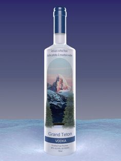 Grand Teton's small-batch care and almost 20 distillations lend to its premium smoothness.