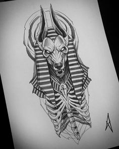 Anubis Tattoo, Hades Tattoo, Zeus Tattoo, Leg Tattoos, Body Art Tattoos, Sleeve Tattoos, Tattoos For Guys, Script Tattoos, Arabic Tattoos