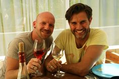 gay couple from Rotterdam moves to Ibiza for work and make friends