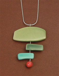 Kim Caisse/Bee Design. The link doesn't work and I'm not sure it's polymer. How about I pin it for inspiration? :-)