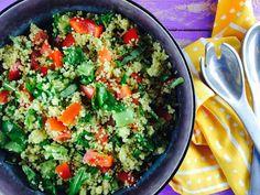 Monash University Low FODMAP Diet: Low FODMAP Summer Millet Salad