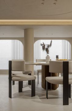 致敬24号|空间|室内设计|卖画为生 - 原创作品 - 站酷 (ZCOOL) Dining Area, Dining Room, Dining Table, Art Deco, Panelling, Modern Houses, Interior, Kitchen, Furniture