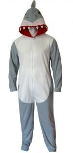 Discovery Channel Shark Week Shark Union Suit Pajama