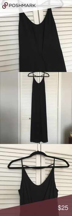 Maxi Dress Black maxi dress, polyester H&M Dresses Maxi