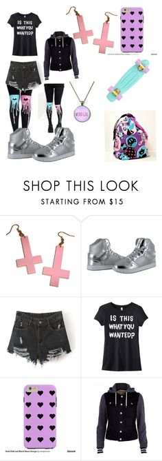 """""""Pastel goth"""" by swood5602 ❤ liked on Polyvore featuring River Island"""