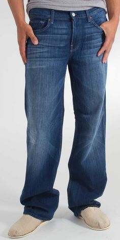 """7 For All Mankind """"A"""" Pocket Bootcut Jean in Paso Robles- $178.00"""