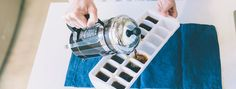 Coffee Ice Cubes Recipe Been doing this for years. Makes great iced coffee.
