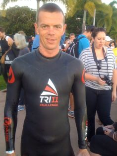 http://yfrog.com/odqkeuqj jimmy Johnsen just before Ironman Cairns 2012