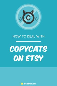 Is someone stealing your images, copying your listing titles, selling something exactly like yours? Is it copying or is it imitating? Learn how to deal with copycats on etsy.