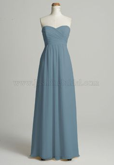 Bridesmaid Dress in cornflower [ Jasmine Bridal B2078] this might be the color!!