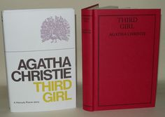 Agatha Christie - Third Girl - A Hercule Poirot Story. This Novel forms part of an issue of the Agatha Christie book Collection. Dead Man's Folly, Hercule Poirot, Agatha Christie, Book Collection, Third, Novels, Learning, Books, Ebay