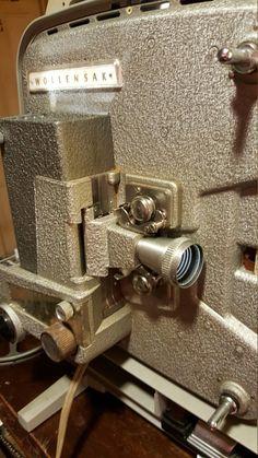 Vintage Wollensak 8mm film projector Model 715 by JunkinJimmys